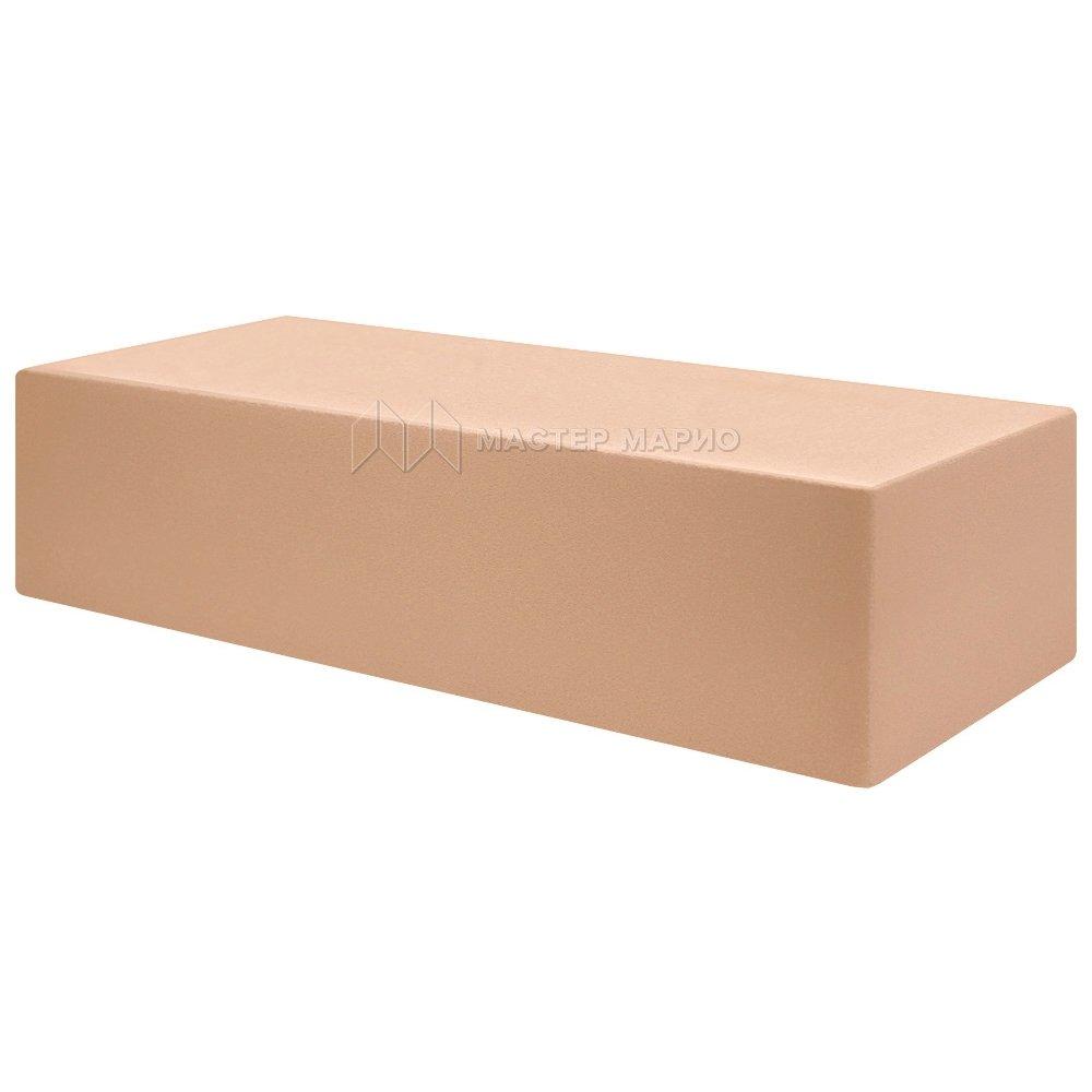 Кирпич лицевой силикатный «Персик» полнотелый одинарный