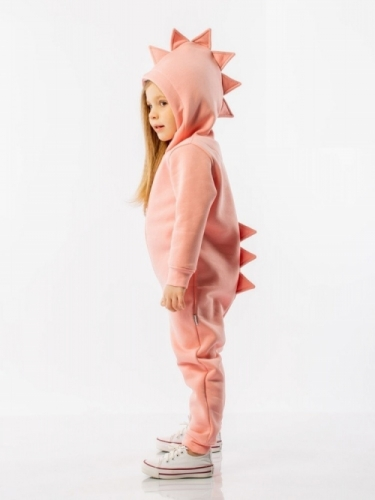 Комбинезон для девочки весна-лето, розовый BODO Диномания, р. 26 (рост 80-86 см), 9-50U