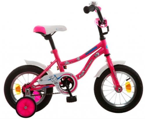 Велосипед Novatrack Neptun, розовый, рама 12