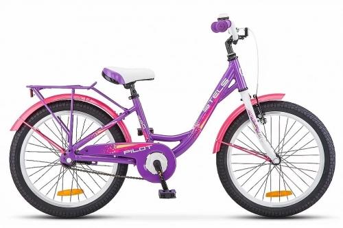 Велосипед Stels Pilot-220 Lady, фиолетовый, рама 20