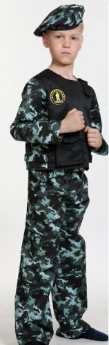 Карнавальный костюм Спецназ-3, 5-7 лет