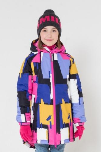 Куртка для девочки Crockid ВК 38038/н/2 ГР размер 134-140