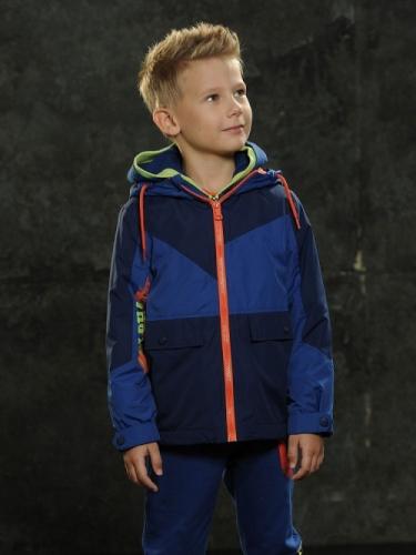 Ветровка для мальчиков, размер 6, темно-синяя Pelican
