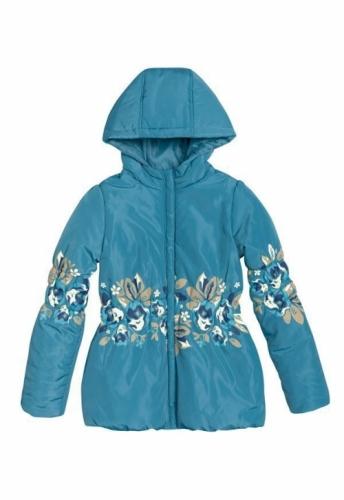 Куртка для девочек, размер 10, весна-осень, синяя Pelican GZWL483