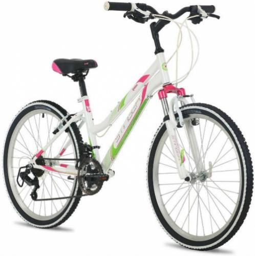 Велосипед Stinger Latina, белый, рама 24