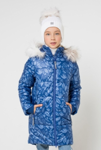Куртка для девочки Crockid ВКБ 38043/н/1 ГР размер 164-170