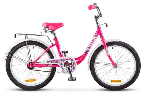 Велосипед Stels Pilot-200 Lady, розовый, рама 20