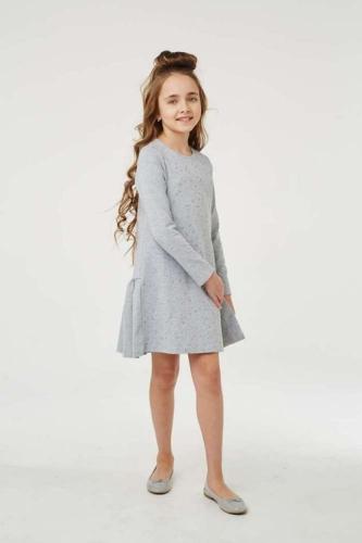 Платье для девочки размер 134, Звезды Ночной синий, УМКА