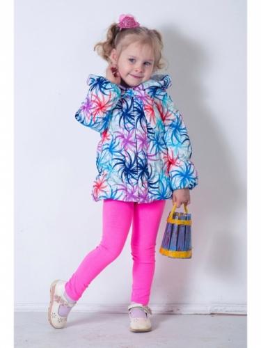 Куртка для девочек, размер 28, весна-осень, сиреневаяя Modus L, Каприз