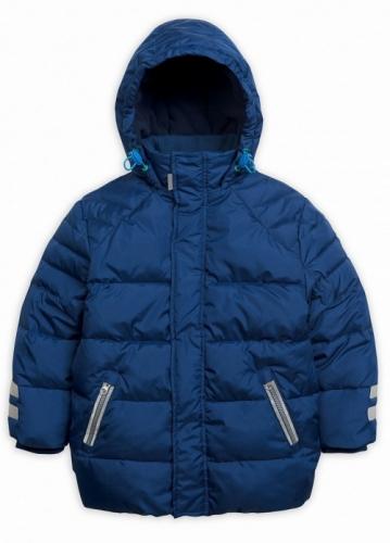 Куртка для мальчиков, размер 5, зимняя, синяя Pelican BZWW3076