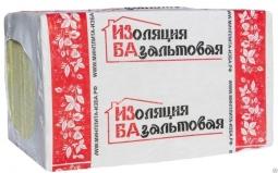 Базальтовый утеплитель ИЗБА Фасад 135 1000х600х100