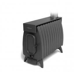 Печь отопительная Термофор Огонь-батарея 11 Лайт антрацит дровяная