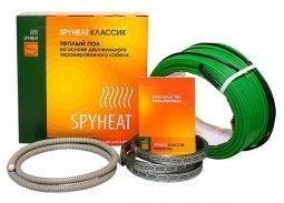 Теплый пол на основе двухжильного экранированного кабеля SpyHeat SHD-15-300