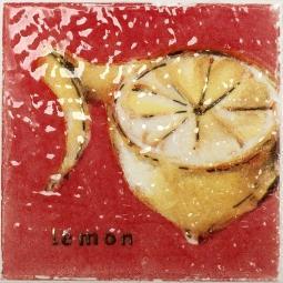 Декор Atem Streza  lemon W 10x10