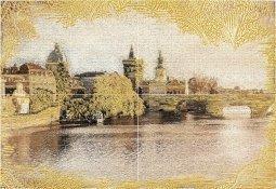 Панно Уралкерамика Прага ПН7ПГ1 49.8x72.8