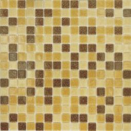 Мозаика Elada Econom на сетке MC104 темно-песочный микс 32.7x32.7