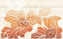 Декор Нефрит-керамика Кензо 04-01-1-09-03-25-075-1 40x25 Оранжевый