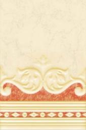 Плитка для стен Нефрит-керамика Барокко 00-00-1-06-10-25-033 30x20 Коричневый