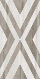 Плитка для пола Golden Tile Savoy Rhombus 000020 Серая Ректификат 300х600
