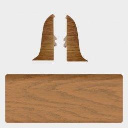 Заглушка торцевая левая и правая (блистер 2 шт.) Т-пласт 062 Дуб Мармарис