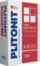 Клей для плитки Plitonit В для внутренних/наружных работ 5кг