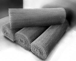 Сетка рабица d=2,5 мм, ячейка 25x25 мм, 1500x1000 мм, оцинкованная