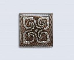 Декор Орнамент Универсальные вставки для пола Персей Platinum 2 6.7x6.7