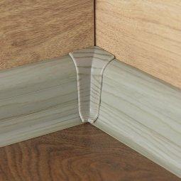 Внутренний угол DekoFloor 036 Серый Дуб (текстура)