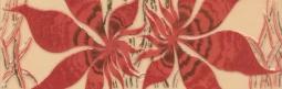 Бордюр Береза-керамика Магия фантазия Фриз бордовый 25х8