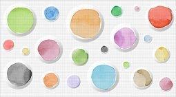 Декор Ceradim Palette Dec Palette 2 25x45