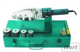 Аппарат для сварки полипропиленовых труб WERT WPT 1600 220V, насадки(20/25/32/40), кейс