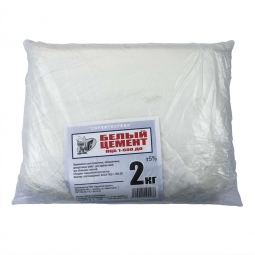 Цемент Гарантсервис ПЦБ 500 белый 2кг