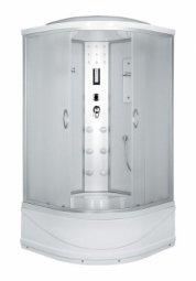 Душевая кабина Erlit Comfort ER4510TP-C3 1000х1000х2150 мм матовое стекло