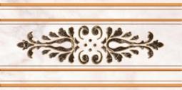 Декор Нефрит-керамика Пастораль 04-01-1-10-03-06-460-2 50x25 Бежевый