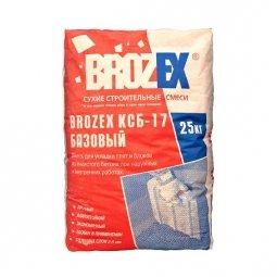 Клей для ячеистых блоков Brozex КСБ-17 Базовый 25 кг