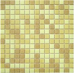 Мозаика Elada Econom на бумаге MC103P песочный микс на бумаге 32.7x32.7