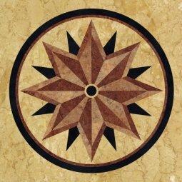 ПВХ-плитка Art Tile AM 9016 182.8x182.8