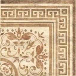 Декор Undefasa Centro Travertino бежевый 41х41