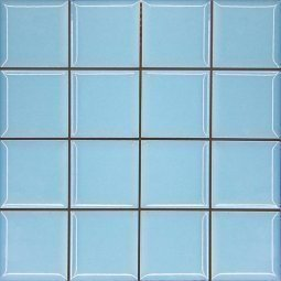 Плитка для стен Сокол Моно MC8 голубая глянцевая 33х33