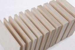 Фанера ФК шлифованная с 2 сторон 9x1525x1525 мм, сорт 2/2, береза