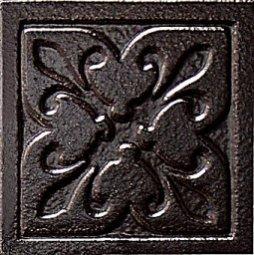Декор Freelite Универсальные вставки для пола Орлеан Черный 6x6
