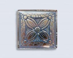 Декор Орнамент Универсальные вставки для пола Касабланка Grey 1 6.7x6.7