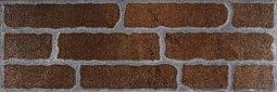 Плитка для стен Сокол Кремль KS-3 коричневая полуматовая 12х36.5