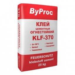 Клей для плитки ByProc KLW-370 жаростойкий 25 кг