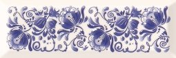 Декор Cracia Ceramica Metro Gzhel Decor 02 10x30