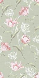 Плитка для стен Kerama Marazzi Норфолк Цветы 11087 30х60 зеленый