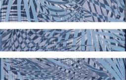 Бордюр Italon Drops Дэним Тропик Mix 3 4.6x25