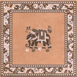 Декор Kerama Marazzi Сказки Индии STG\B63\5201 20х20