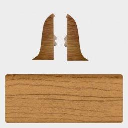 Заглушка торцевая левая и правая (блистер 2 шт.) Т-пласт 045 Дуб Европейский