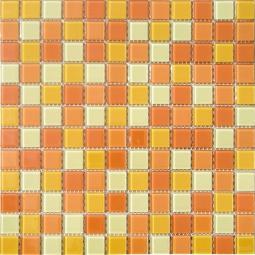 Мозаика Elada Crystal CB002 желто-оранжевый 32.7x32.7